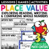 Place Value Math Test Prep Task Cards