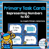 Place Value Task Cards - Representing Numbers to 100