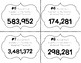 Place Value Task Cards Round Each Number To The Nearest Hundred Thousand