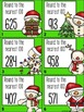 Place Value Task Cards: Rounding to Nearest 100 {Christmas}
