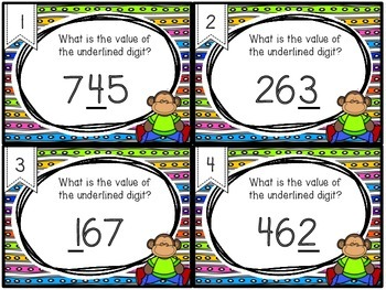 Place Value Task Cards / SCOOT