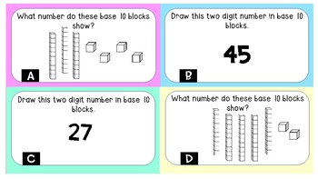 Place Value Task Cards/Scoot