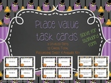 Place Value Task Cards Standard Form