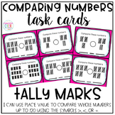 Comparing Numbers Task Cards - Tally Marks