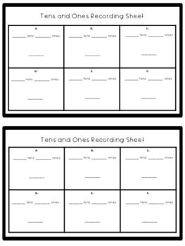 Place Value Task Cards (Tens and Ones)
