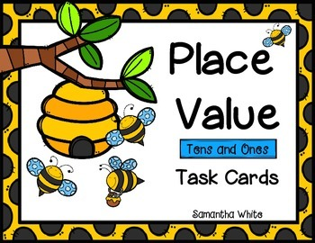 Place Value Task Cards {Tens and Ones}