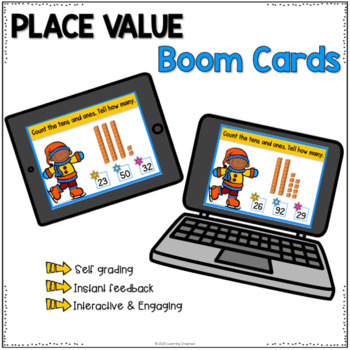 Place Value Task Cards Winter Edition