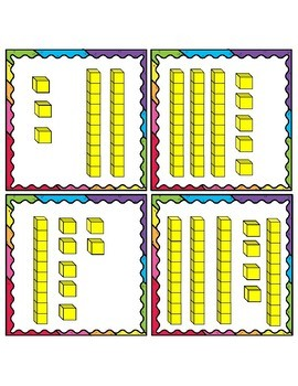 Place Value Task Cards Within 50