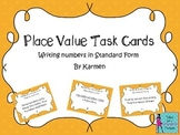 Place Value Task Cards: Writing Numbers in Standard Form