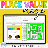Place Value | Task Cards and Maze
