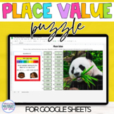 Place Value   Task Cards and Mystery Picture