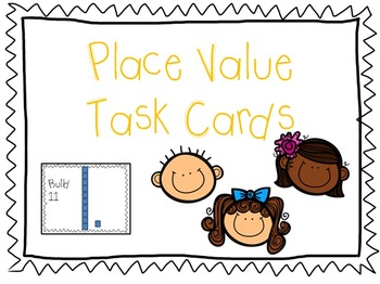 Place Value Task Cards (differentiated)