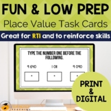 Place Value Task Cards for Building Number Sense | Numbers