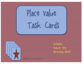 Place Value Task Cards for Centers