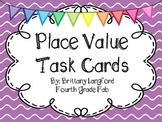 Place Value Task Cards to the Millions Place