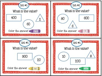 Place Value Task Cards with a Twist...Awesome!