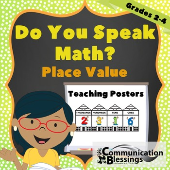 Place Value Vocabulary and Language