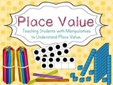Place Value with Manipulatives to Understand : distance le