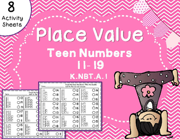 Place Value - Teen Numbers 11-19 Base Ten