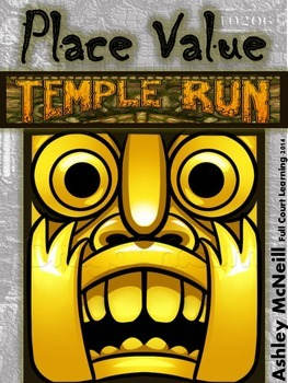 Place Value Temple Run