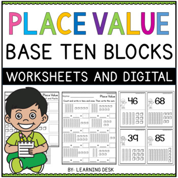 Place Value Tens And Ones Worksheets-Base Ten Blocks Worksheets