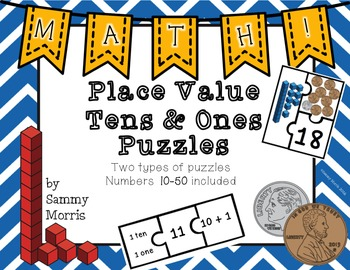Place Value Puzzles - Tens & Ones
