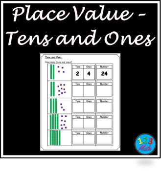 Place Value - Tens & Ones Worksheets