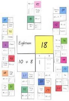 Place Value - Tens Puzzle