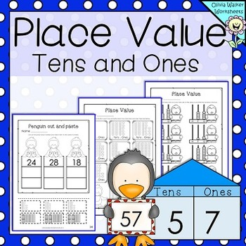 Tens And Ones Worksheets Teaching Resources Teachers Pay Teachers