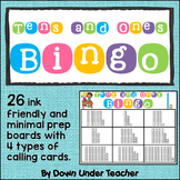 Place Value Bingo - Tens and Ones Bingo - Class Set of Board Games