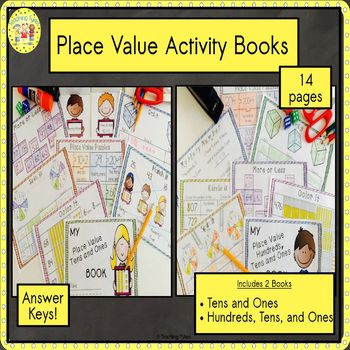 Place Value Tens and Ones Interactive Book