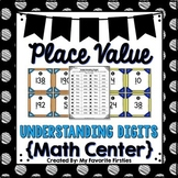 Place Value - Number Sort Center/Write the Room