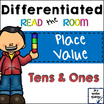 Place Value (Tens and Ones) Differentiated Read the Room
