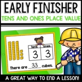Place Value Tens and Ones Early Finisher
