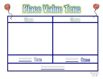 Place Value Tens and Ones Mat