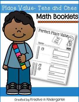 Place Value- Tens and Ones Math Booklet
