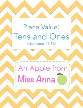 Place Value: Tens and Ones (Numbers 11-19)