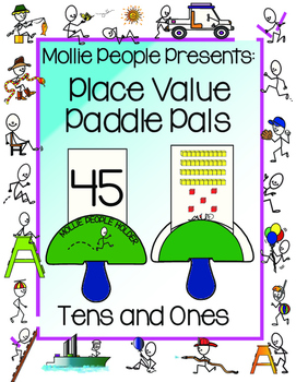 Place Value:  Tens and Ones Paddle Pals!!!