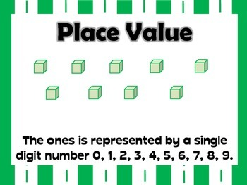 Place Value Tens and Ones Posters and Task cards