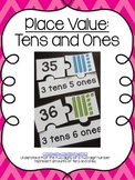 Math Center - Place Value: Tens and Ones Puzzle