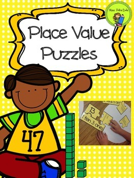 Place Value: Tens and Ones Puzzles