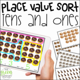 Place Value Tens and Ones Sort (Digital or Paper Based Activity)