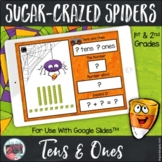Place Value Tens and Ones Spiders For Google SlidesTM