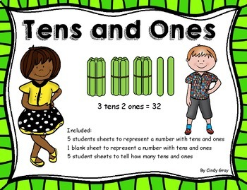 Place Value ~ Tens and Ones With Popsicle Sticks