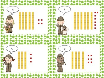 Place Value - Tens and Ones Write the Room