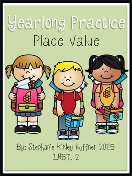 Place Value - Tens and Ones - Yearlong Practice