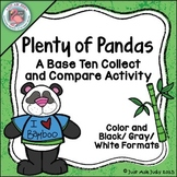 Place Value Activity Tens and Ones or Hundreds, Tens and Ones Pandas