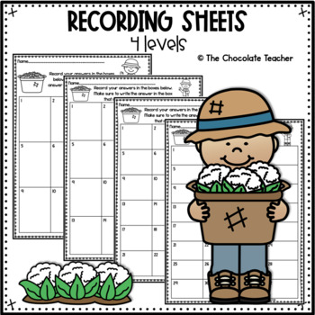 Place Value Tens and Ones Activity to 100 CCSS 1.NBT.2