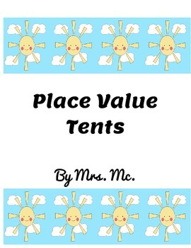 Place Value Tents
