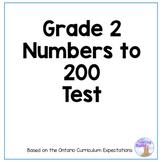 Grade 2 Place Value Test